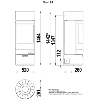 SCAN-85-1 brez