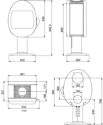 Scan-66-2-Pedestal-techninė